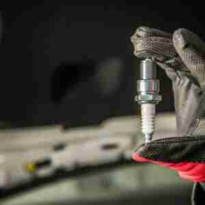 spark plug in hand